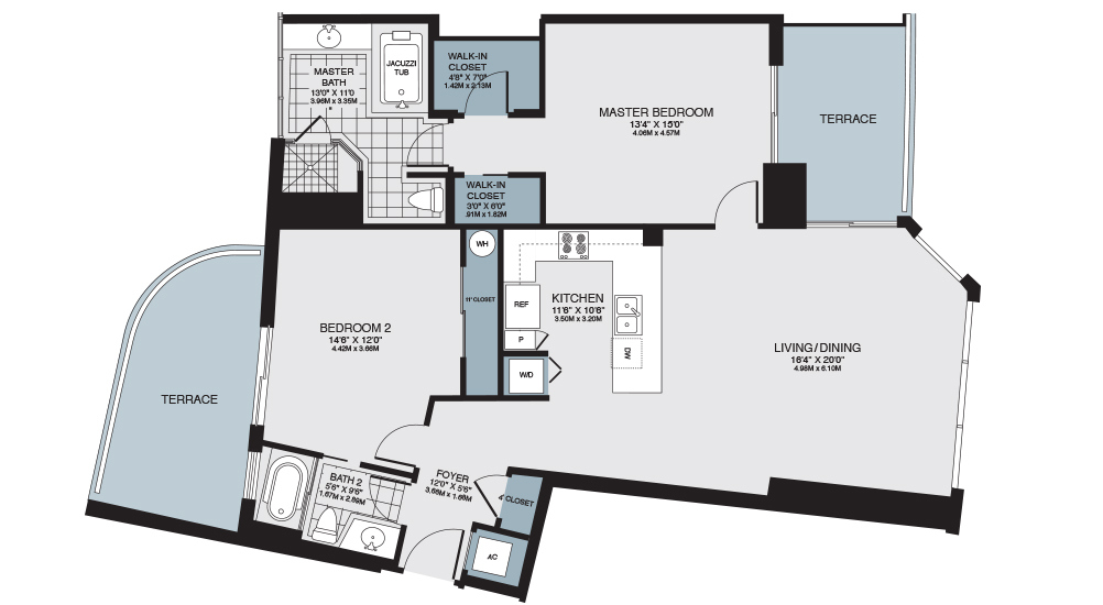 Turnberry Towers Floor Plans Turnberry Towers Condos For Sale In - Las vegas floor plans
